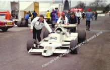 Arrows A1B Rupert Keegan Mallory Park paddock Aurora 1979 photo(b)